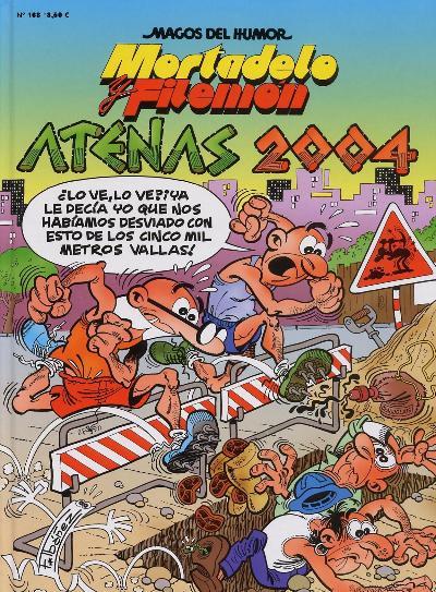 Mortadelo y Filemón Visitan las Olimpiadas de Atenas