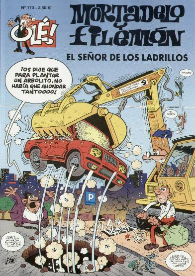 Mortadelo y Filemón Constructores y Destructores