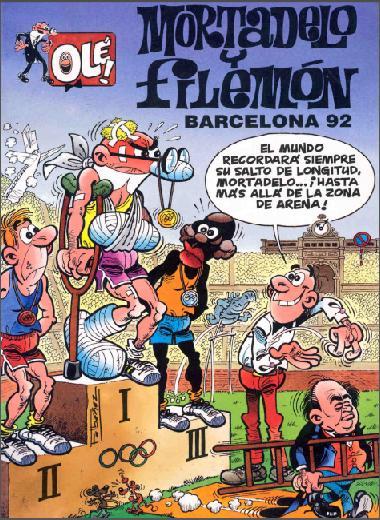 las aventuras de mortadelo y filemon en los juegos olímpicos de barcelona-92