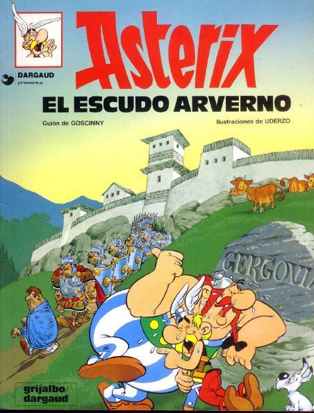 el escudo averno de asterix